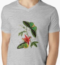 FF - Butterfly-5 Men's V-Neck T-Shirt