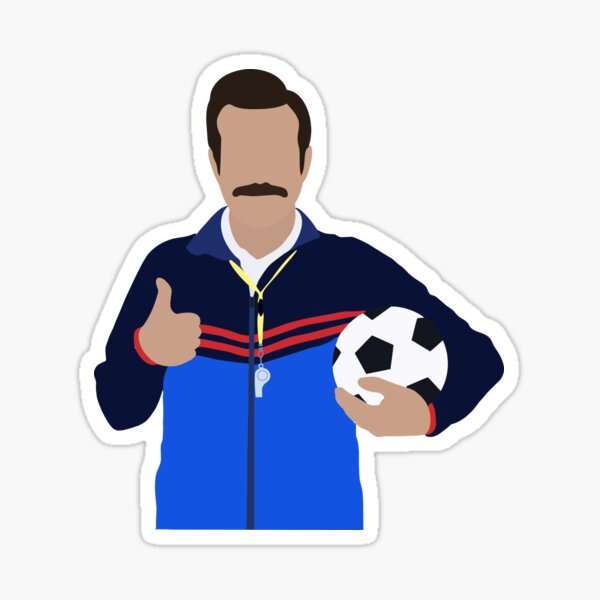 Futbol Lasso Sticker