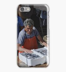 Packing the day's catch, Sciacca, Sicily iPhone Case/Skin