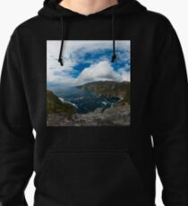 Bunglas - Highest Sea Cliffs in Europe? Pullover Hoodie