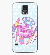 Girl Fighter Case/Skin for Samsung Galaxy