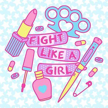 Girl Fighter by jadeboylan