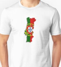 Map of Portugal 2 Unisex T-Shirt