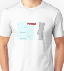 Map of Portugal 1.5 Unisex T-Shirt