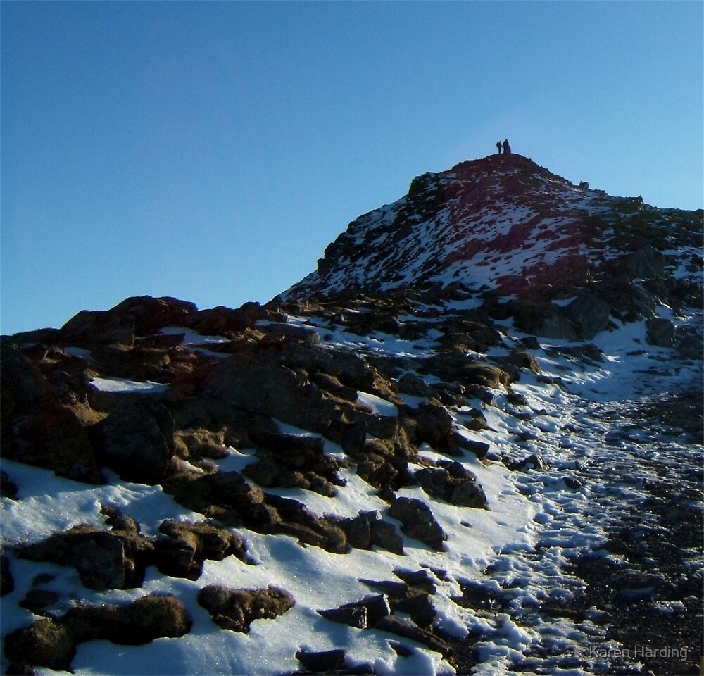 To the Top of Snowdon by Karen Harding