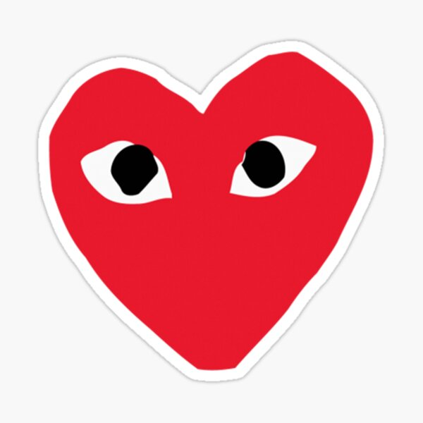 Hypebeast Heart With Eyes Garcons Sticker