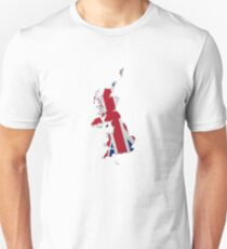 Map of the UK and Crown Dependencies 2 T-Shirt