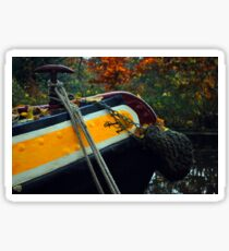 Barge & Rope Sticker