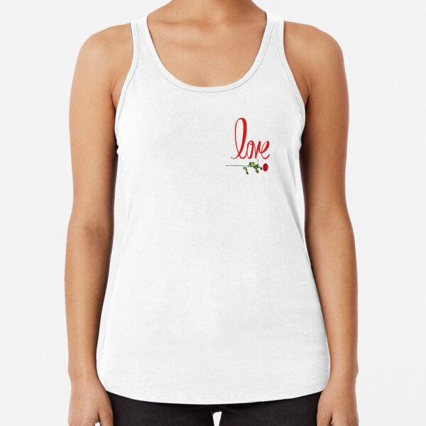 Love is in the Air designs ❤️ Racerback Tank Top