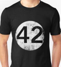 42 - Black Circle T-Shirt