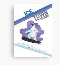 Ice Town Canvas Print