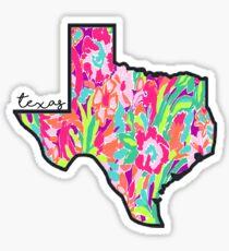 Lilly Texas Sticker
