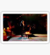 CLEXA VOW Sticker