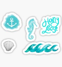 Beachy Tumblr Stickers 2 Sticker