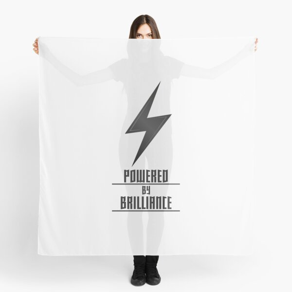 Powered by Brilliance Scarf