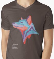 Catherine's Fox - Dark Shirts Mens V-Neck T-Shirt