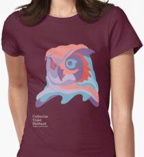 Catherine's Owl - Dark Shirts Women's Fitted T-Shirt
