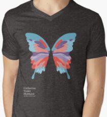 Catherine's Butterfly - Dark Shirts Men's V-Neck T-Shirt