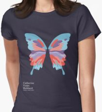 Catherine's Butterfly - Dark Shirts Women's Fitted T-Shirt