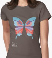 Catherine's Butterfly - Dark Shirts Womens Fitted T-Shirt