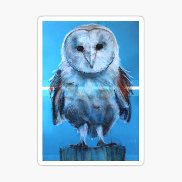 Blue Owl Sticker