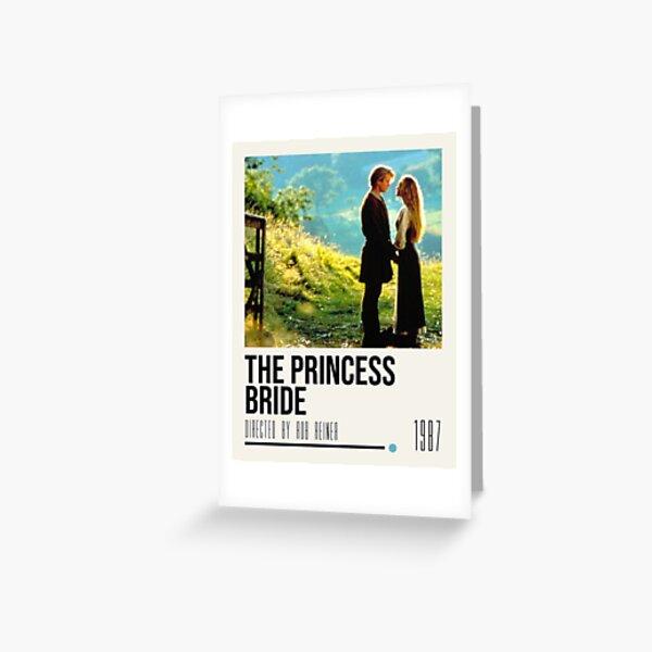 Póster de la película La princesa prometida Tarjetas de felicitación