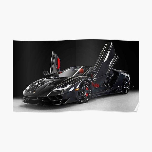 Lamborghini Centario Poster