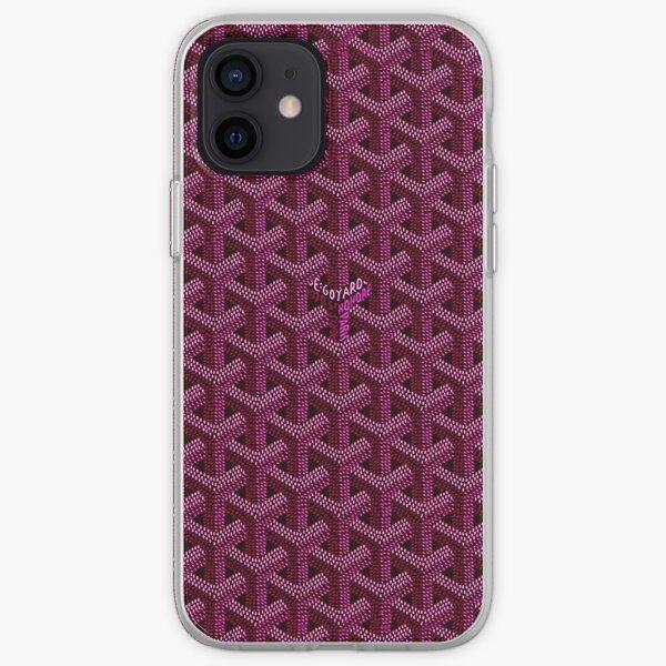 mang goyard rouge Coque souple iPhone