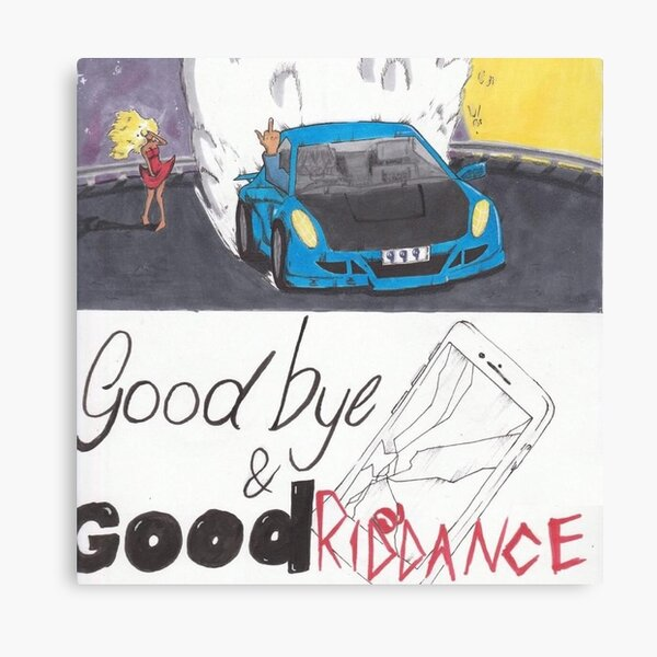 Goodbye & Good Riddance Canvas Print
