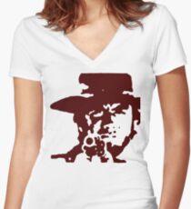 The Stranger Women's Fitted V-Neck T-Shirt