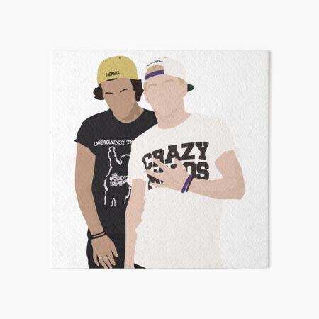 harry styles & niall horan frat boys Art Board Print