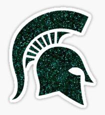 Glitter Spartan Helmet Sticker