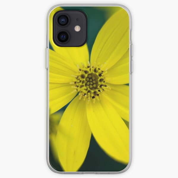 Coreopsis Flower iPhone Soft Case