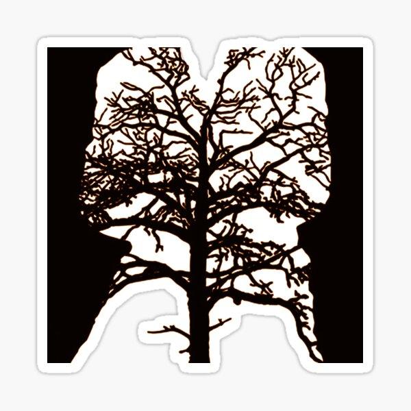 state by nigel of tunnelmental Sticker