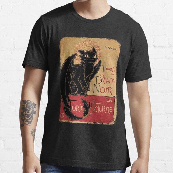 Le Dragon Noir Essential T-Shirt