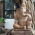 Ganesh in the Terracotta Museum in Chiang Mai by Clara Go (missatgerebut)