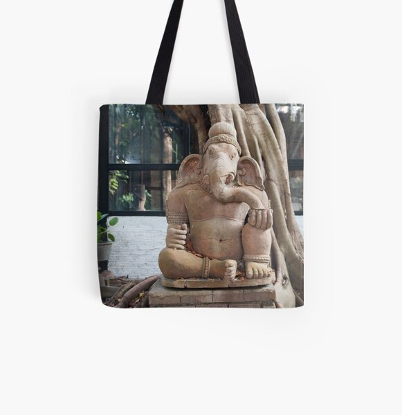 Ganesh in the Terracotta Museum in Chiang Mai All Over Print Tote Bag