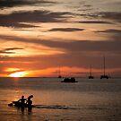 Kayaking to the Sunset in Koh Lipe  by Clara Go (missatgerebut)