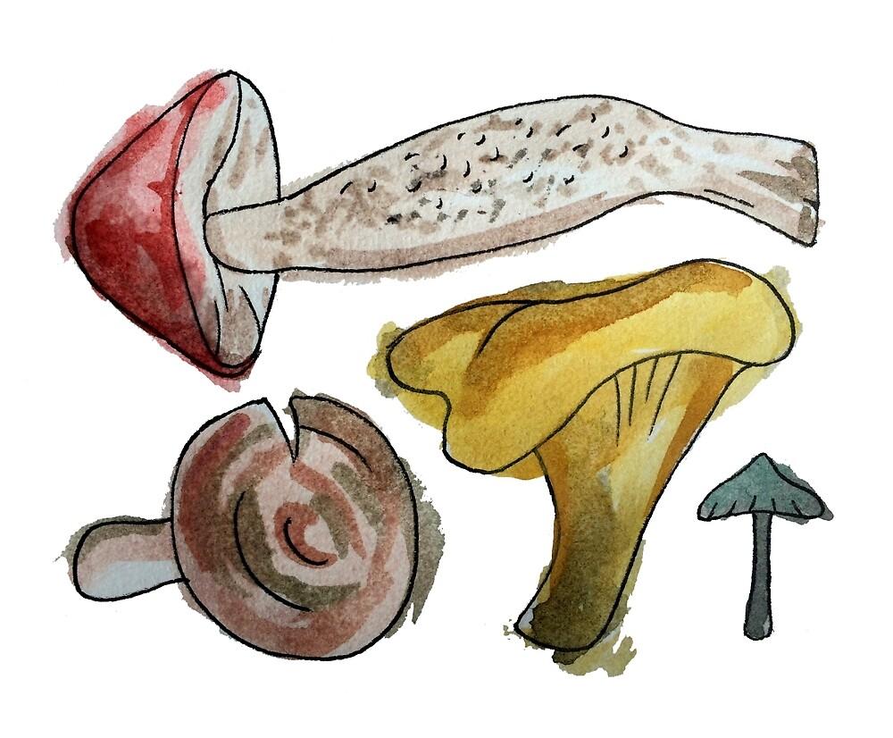 Mushroom Tetris by organicmatter