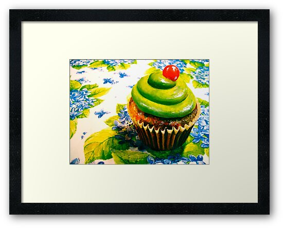 Cupcakes and Violets by ©Janis Zroback