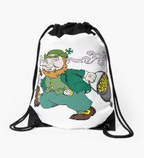 Leprechaun Drawstring Bag