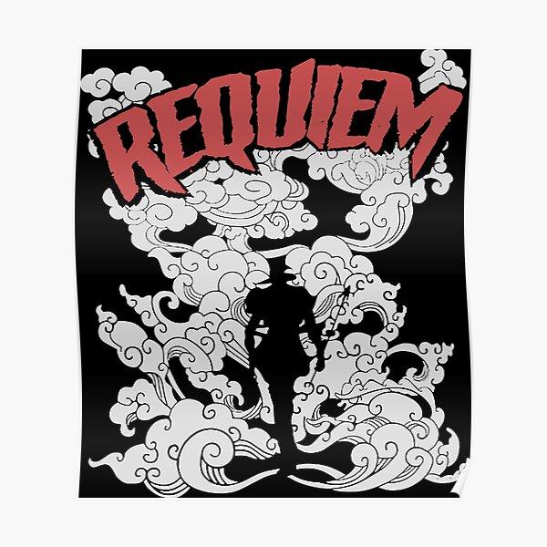 T-shirt argenté Chariot Requiem Poster