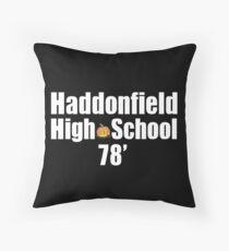 Haddonfield High School Throw Pillow