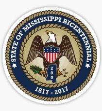 State of Mississippi Bicentennial  Sticker