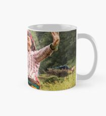 Lovely Aunty Dancing in Gyachchok (Gorkha district) Mug
