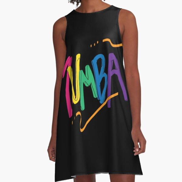 Zumba Dance With stars A-Line Dress