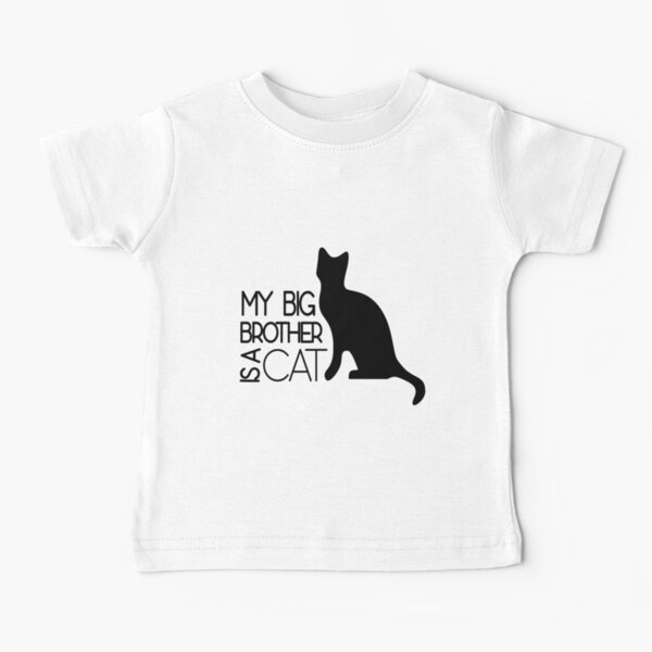 My Big Brother Is a Cat Baby T-Shirt