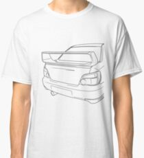 sti outline - black Classic T-Shirt