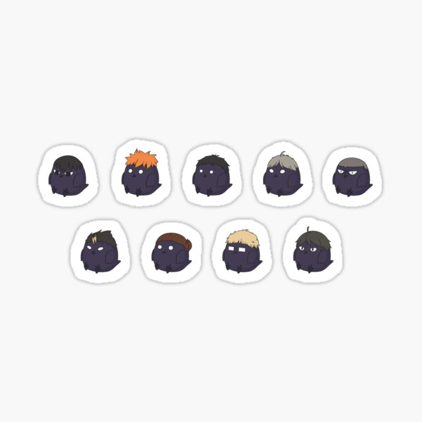 Karasuno Crows Sticker