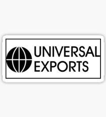 Universal Exports Sticker